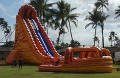 36ft Mount Kilauea (curved) water slide