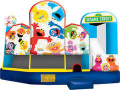 Sesame Street 2 5-in-1 combo (Wet)