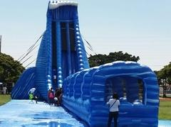 42ft The World's Tallest Inflatable water slide