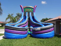 22ft Twin Falls water slide