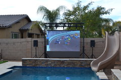 Outdoor Movie Screen Rental in Arizona Inflatable Movie Screen Rental