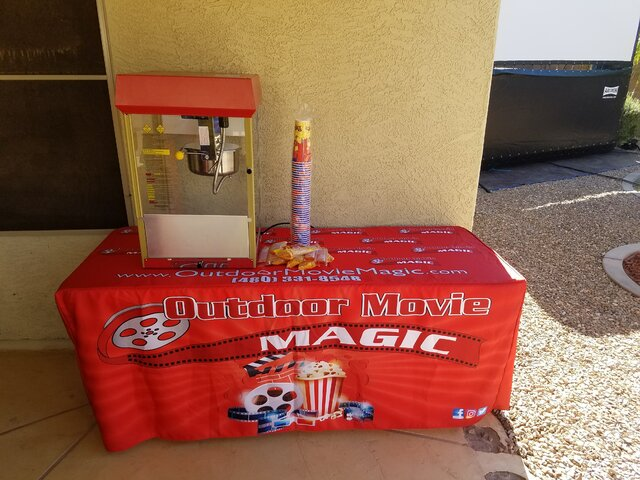8oz Popcorn Machine.