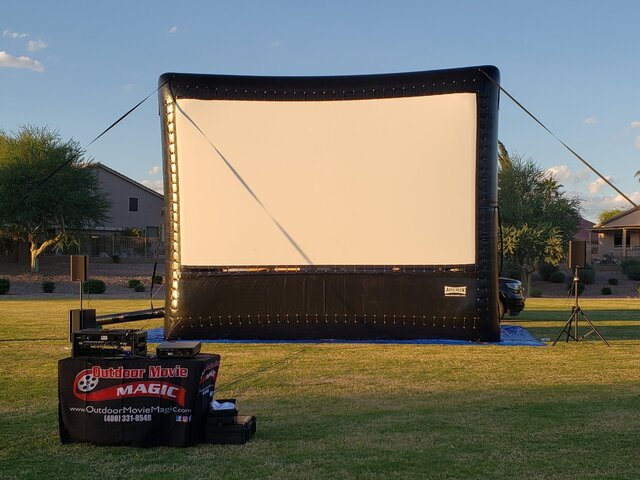 20' Screen Package 1