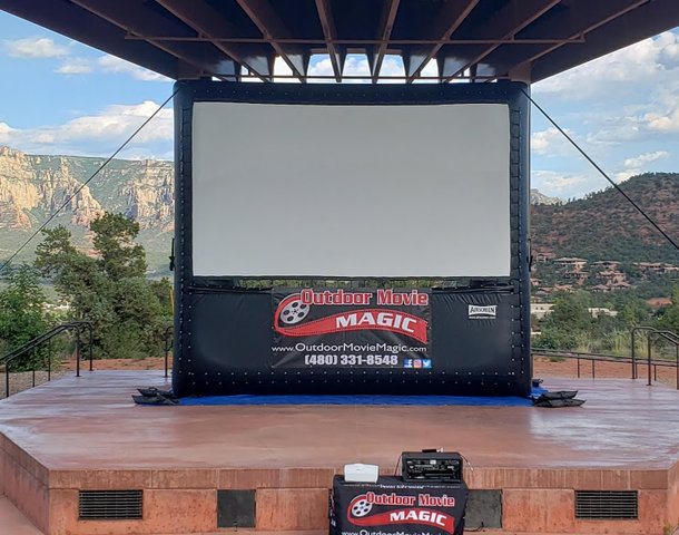16' Screen Package 2 - 200 Guest