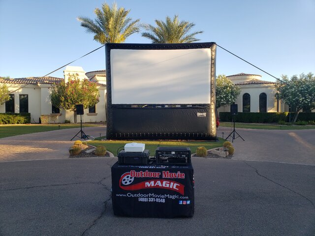 16' Drive In Movie