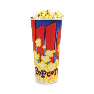 16oz Popcorn Servings.