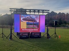 "160"" LED Screen- Park"