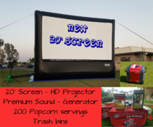 20' Screen Package 2 - 200 Guest