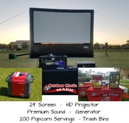 24' Screen Package 2 - 200 Guest