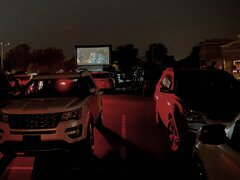 24' Drive In Movie