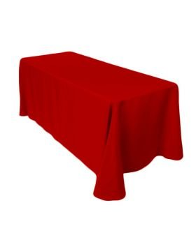 6' Tablecloth- Red