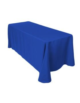 6' Tablecloth- Royal Blue