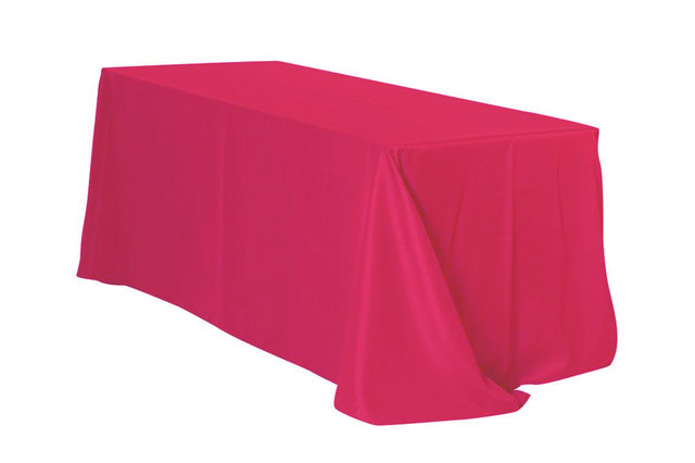 6' Tablecloth- Fuchsia