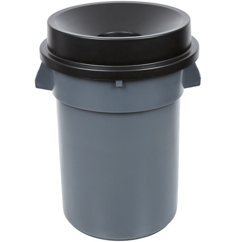 32 Gallon Trash Can With Funnel Lid