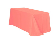 6' Tablecloth- Coral