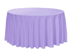 "120"" Round Tablecloth- Lavender"