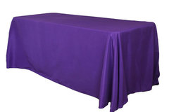 8' Tablecloth- Purple