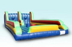Image result for Inflatable bungee joust and twister