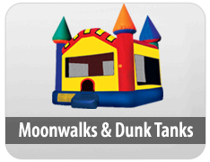 Moon Walk and Dunk Tanks
