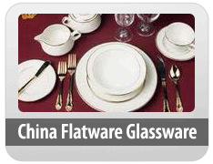 China - Flatware - Glassware