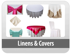 Linen - Chair Covers - Ties