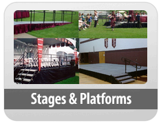 Stages and Riser Rentals