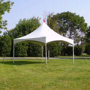 15 x 30 High Peak Frame Tent All White (Installed by Midwest)