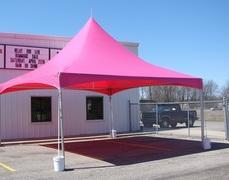20' x 20' Pink Frame Tent (Installed by Midwest)