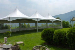 20 x 60 High Peak Frame Tent All White (Installed by Midwest)