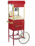 Popcorn Machine on Cart