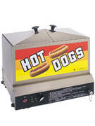 Hot Dog Steamer, 80-90 dog capacity