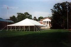 40' x 60' All White Low Peak Canopy (Installed by Midwest)
