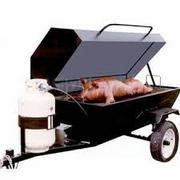 Propane Grill 5' x 30'' Tow Behind Enclosed (propane not included)