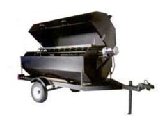 Charcoal Rotisserie Towable