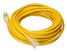 Extension Cord, 100' 12ga Yellow