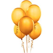 Balloons - Latex     Yellow
