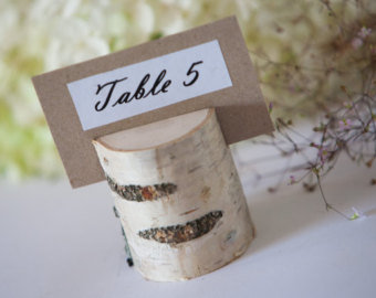 Birch Table Decor