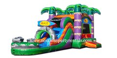 Maui Wowie Bounce House/Slide Combo Wet or Dry