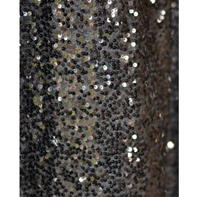 Black Sequin Backdrop