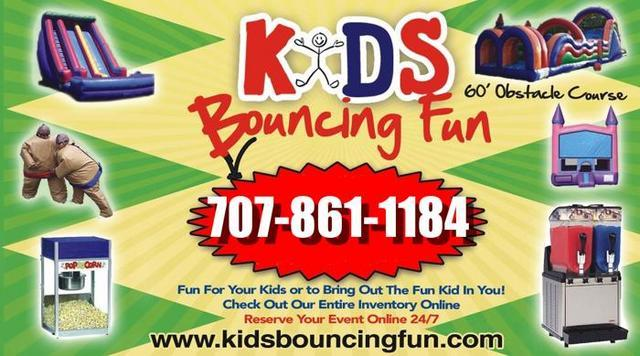 Kids Bouncing Fun