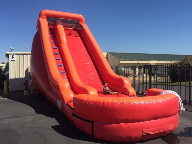 BF - Big Red 21 Foot tall slide dry