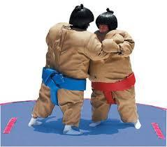 BF - Sumo Suit Wrestling Event