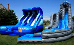 Inflatable Wet Slides