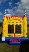 Birthday Cake Bounce House- Square