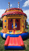 Birthday Cake Bounce House- Circle