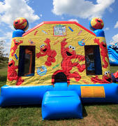 Elmo's World Bounce House