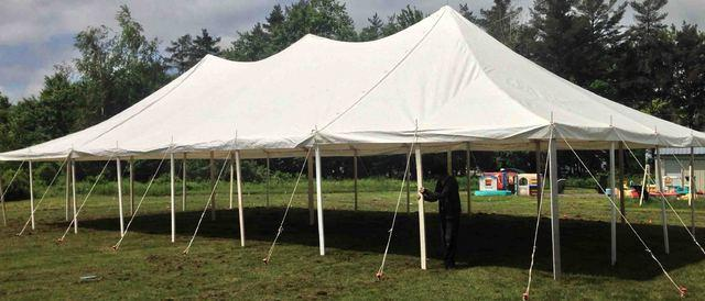 30 X 60 White Wedding tent