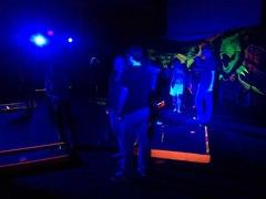 9 Hole Mini Glow Golf Package