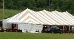 Large commerical tents