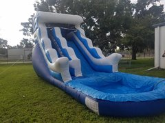 20' Blue wave slide